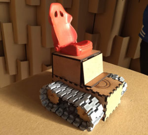 Protótipo da cadeira